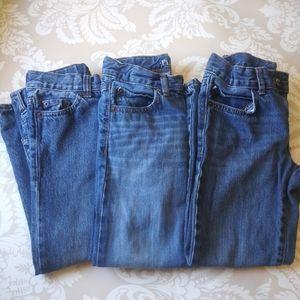 Children's Place Straight Leg Jeans Bundle Size 6